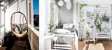 Cum să amenajezi balconul în funcție de dimensiunea acestuia