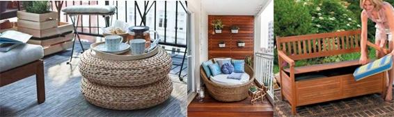 Idei și sfaturi în amenajarea balconului
