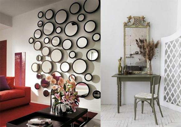 Oglinzi decorative pentru a adăuga mai multă lumină
